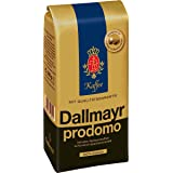 Dallmayr Gourmet Coffee, Prodomo (Whole Bean), 500g Vacuum Packs (Pack of 2)