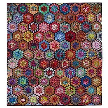 Kim Mclean Quilt Patterns.Amazon Com Kim Mclean Glorious Garden English Paper Piecing