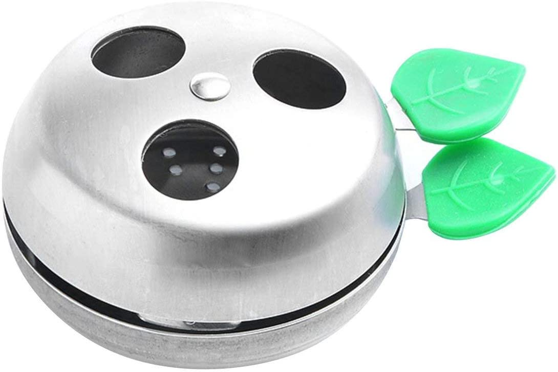 WOSOSYEYO Acero Inoxidable Charcoal Bowl Lotus Charcoal Holder Hookah Shisha Sistema de gestión de Calor Chicha Nargile Accesorios
