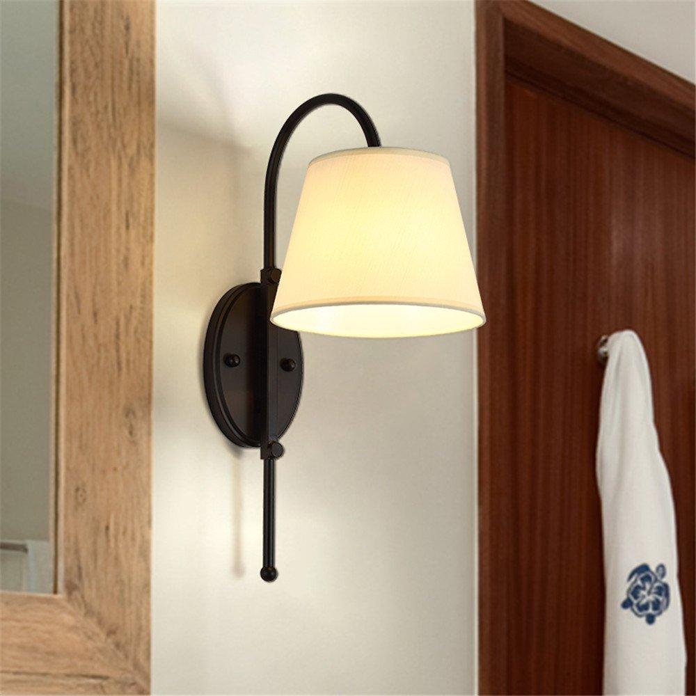 MMYNL Moderne E27 Antik Wandlampe Vintage Wandlampen Wandleuchten für Schlafzimmer Wohnzimmer Bar Flur Bad Küche Balkon Bedside Tv Kreativhotel Wandleuchte