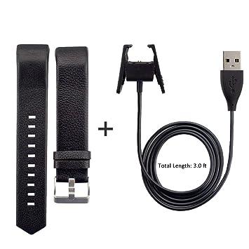 Correa de piel repuesto Shonco con cable cargador USB para ...