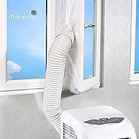 Raamafdichting voor mobiele airconditioners, 400 cm AirLock, geschikt voor elke airconditioner en alle slangmaten.