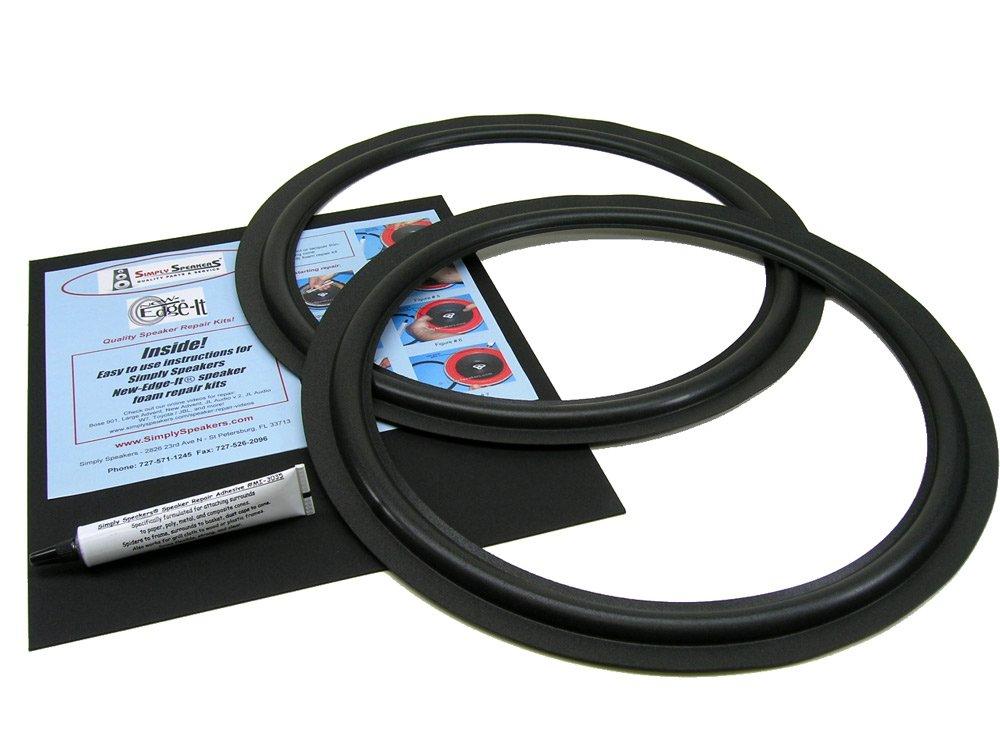 KLH 15'' Foam Speaker Repair Kit FSK-15F (PAIR)