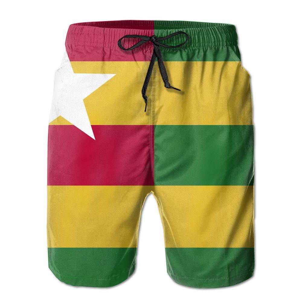 Togo Flag Board Shorts For Men