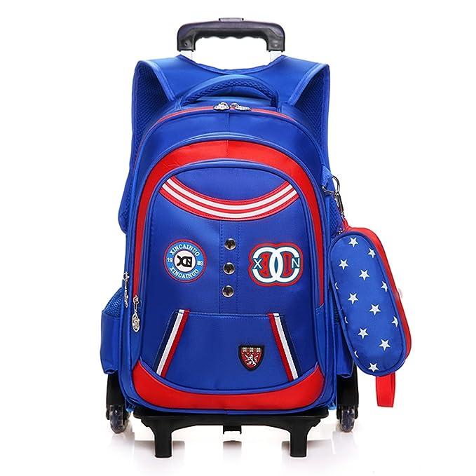 Amazon.com: YUB Trolley Bag Mochila Bolso De Escuela ...