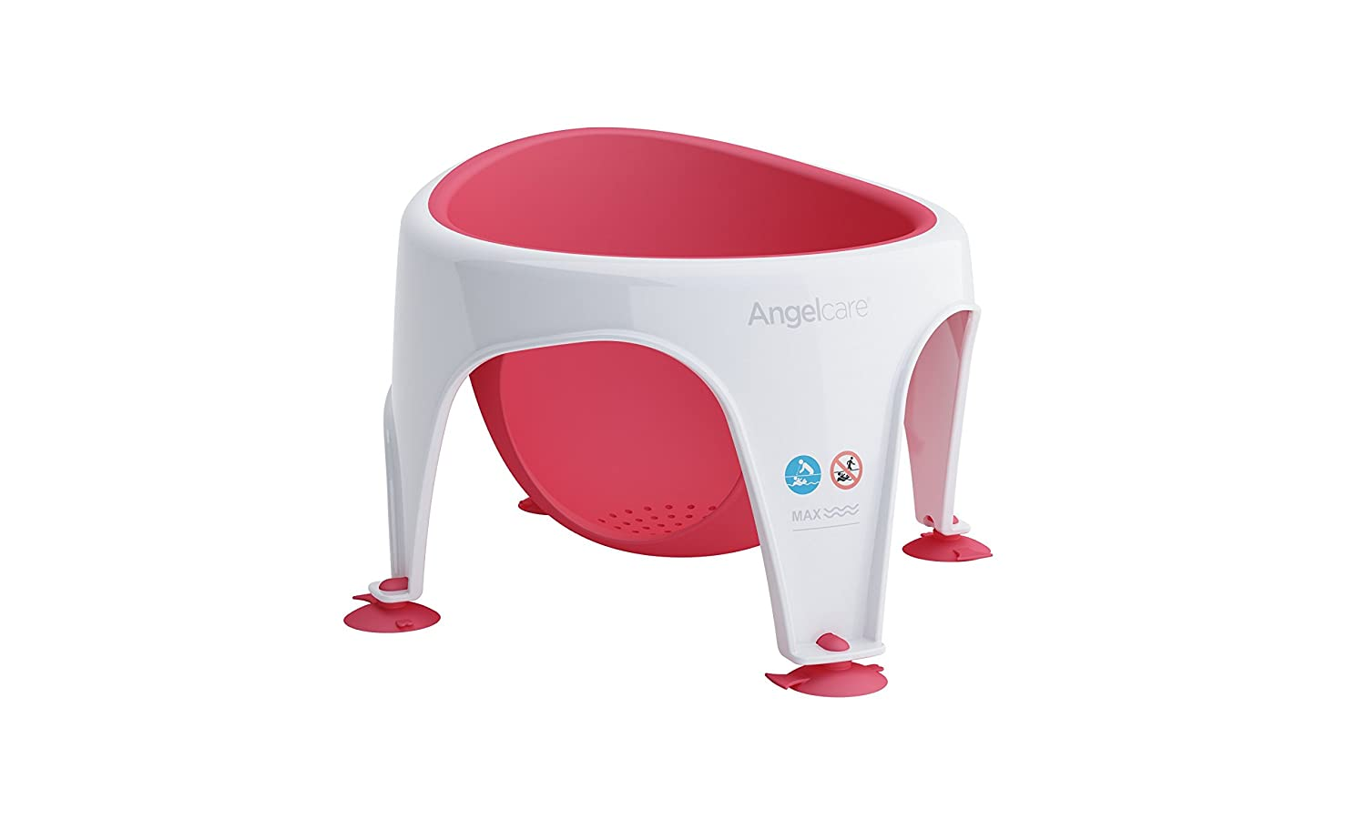 Angelcare Soft Touch Baby Bath Seat - Pink AC3110