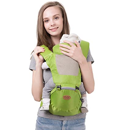 7bf0a196183 Heruai Multi-Functional Summer Baby Waist Stool 3D Breathable Baby Carrier  Sling With Padded Stool