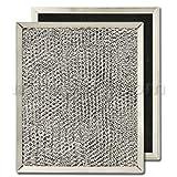 Aluminum / Carbon Range Hood Filter - 8' x 9 1/2' x 7/16'