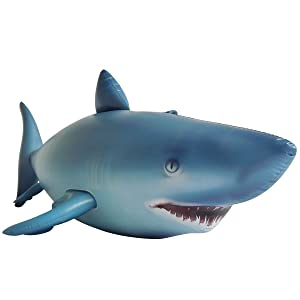 Jet Creations Shark Inflatable Life Like 84 inches Long Party Photo Prop Gift Novelty AL-Shark