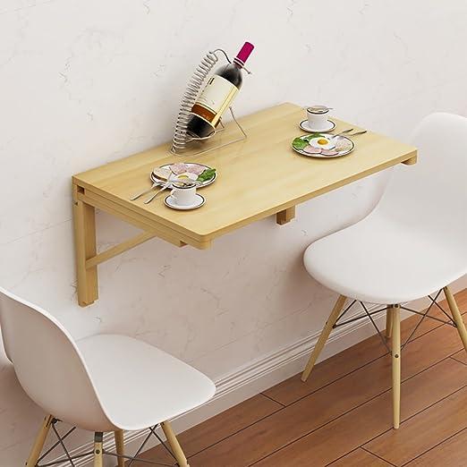 ZJM-table Mesa de Pared de Madera Simple montada en la Pared, Mesa ...