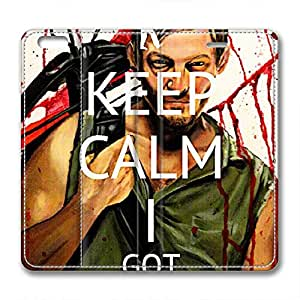 JHFHGVH Case for iPhone 6 Leather, The Walking Dead Daryl Ultimate Protection Case for iPhone 6 Leather