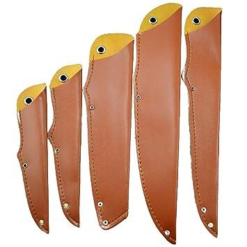 TUYU PU Funda de cuchillo de cuero, Protector de la cuchilla ...