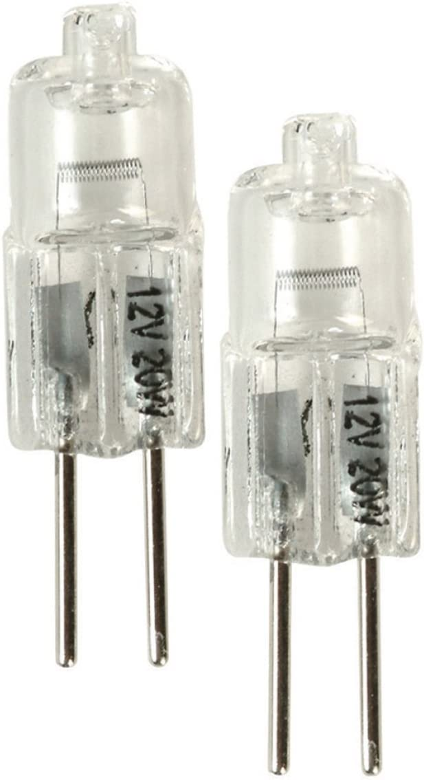 Amerelle Xenon 12V 20 Watts Replacement Bulb 2-Pack for Cabinet Lights Type 3 G4
