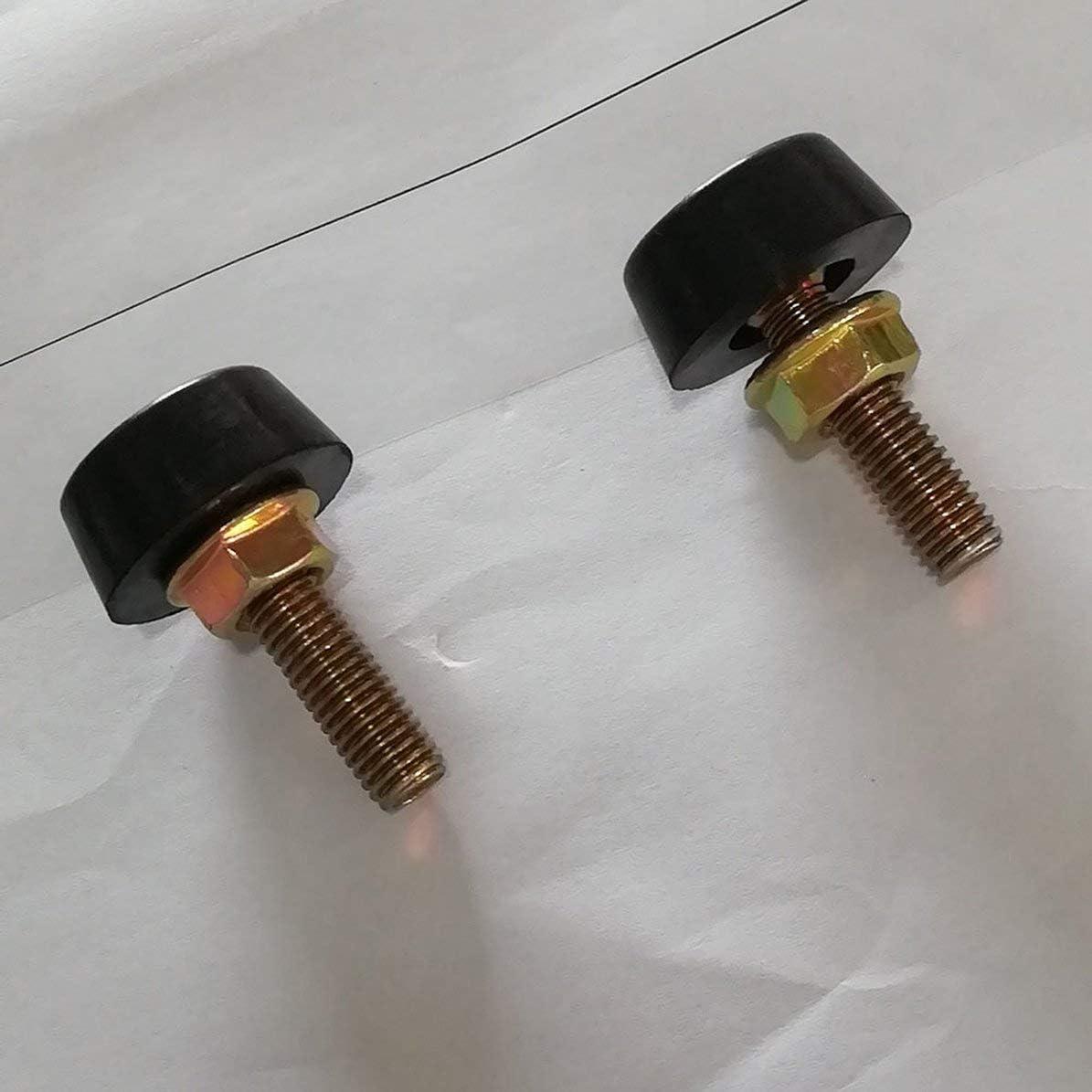 Negro Ajustador de Tope de cap/ó para Nissan Patrol Gq para Ford Maverick Tope de Parachoques 88-97 Ajustador de Tope de cap/ó