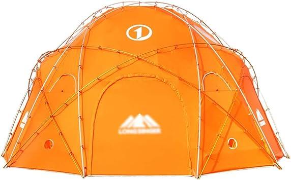Tiendas de túnel Aumento De La Tienda Tienda De Campaña 10 Personas 20 Personas Tienda De Campaña Redonda Gigante De La Montaña De Snow Campamento De Camping Tienda De Aluminio: Amazon.es: Deportes