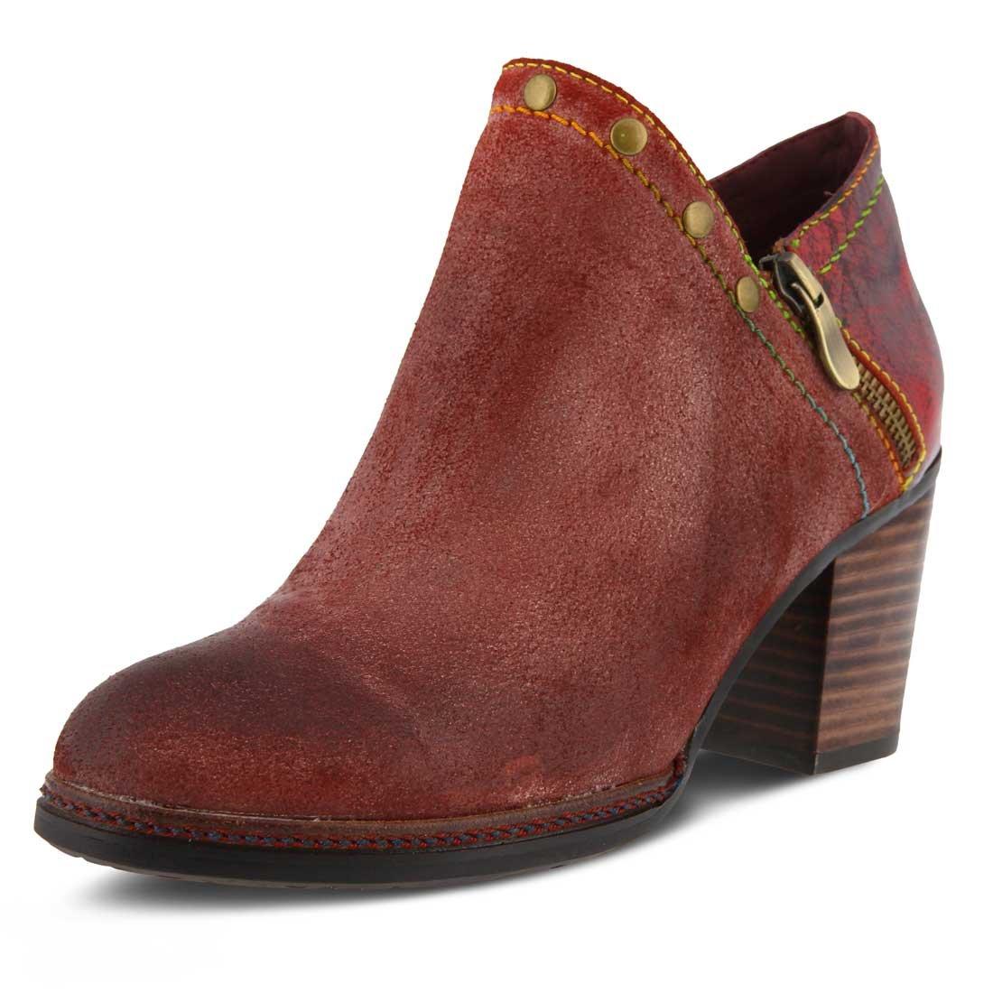 L`Artiste Womens Sabina Boot B074HHCZQR 41 M EU|Bordeaux Suede Leather