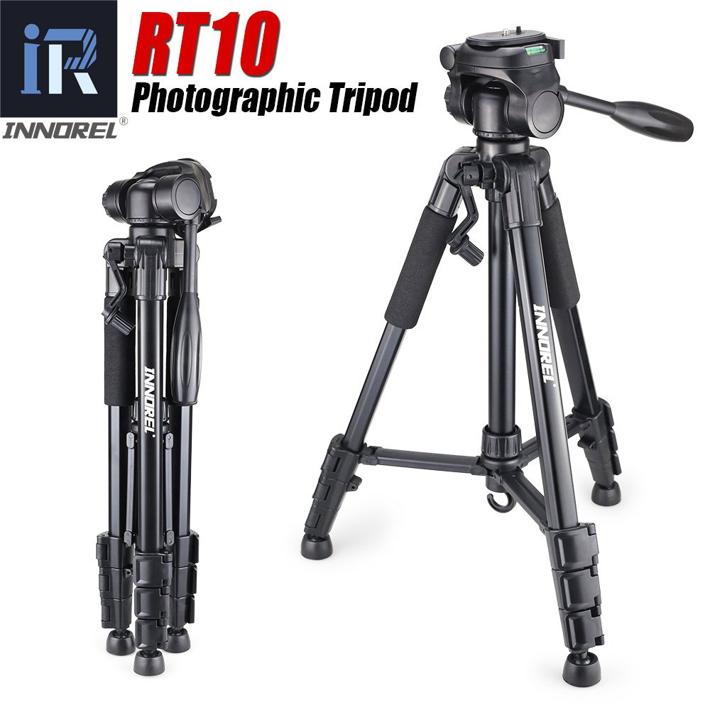 innorel rt10ミニポータブル三脚for DSLRカメラライトコンパクト旅行カメラスタンドパンヘッドas good as q111 for Nikon Canon Sony   B075MZMRMG