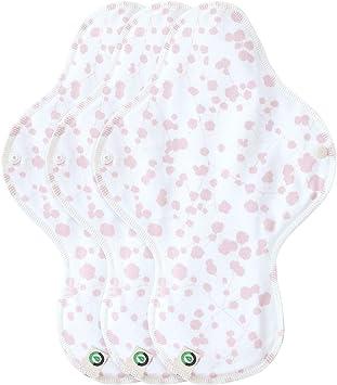 Think ECO [Petit Franc 3p] Almohadillas de algodón orgánico ...