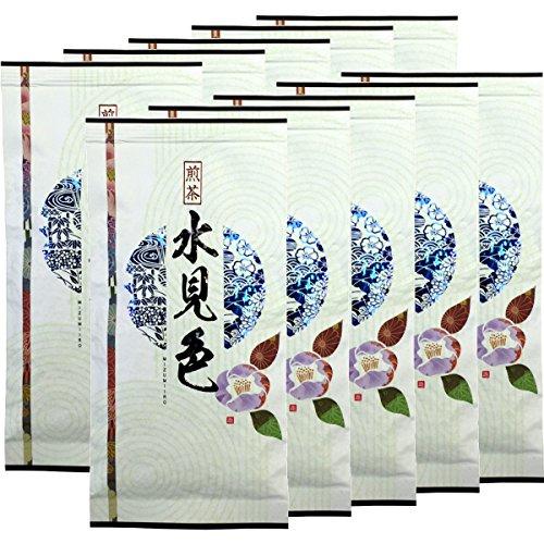 Japanese Tea Shop Yamaneen Japanese Tea Decocted Tea-Leaf Mizumiiro 100G x 10packs by Japanese Tea Shop Yamaneen