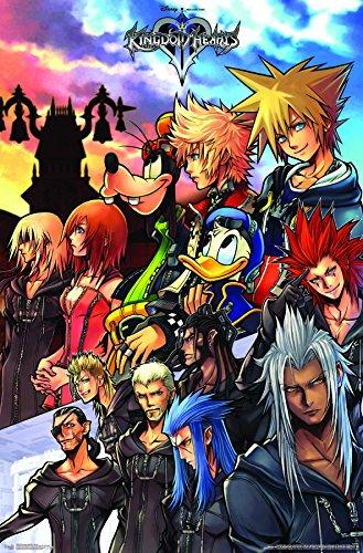 (Trends International Kingdom Hearts - Group Premium Wall Poster 22.375