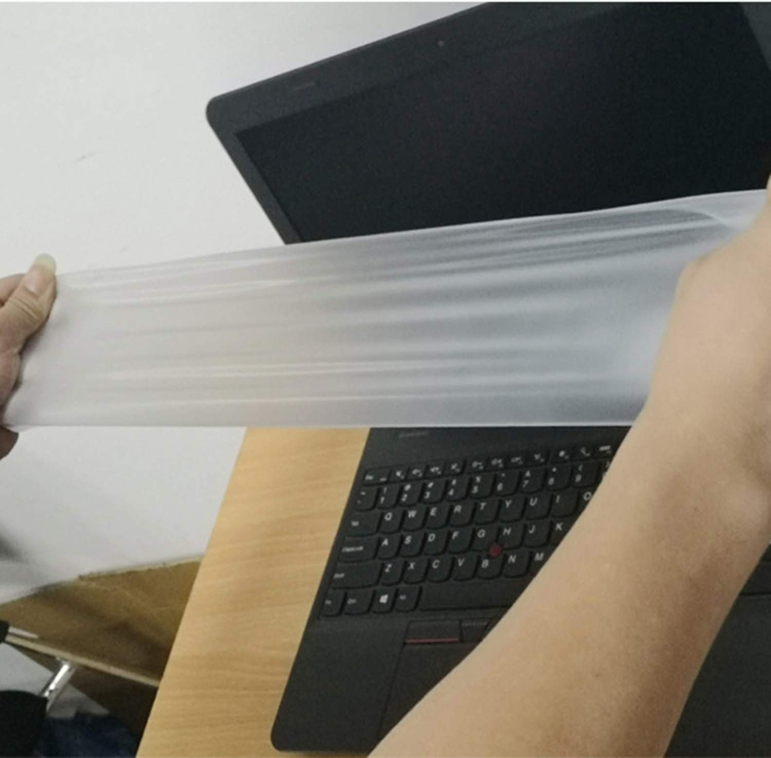 5pieces//lot Silicone Transparent Keyboard Covers for Computer Waterproof Anti dust Keyboard Covers Silicone for 15 inch keyboard-15 inch to 17 inch