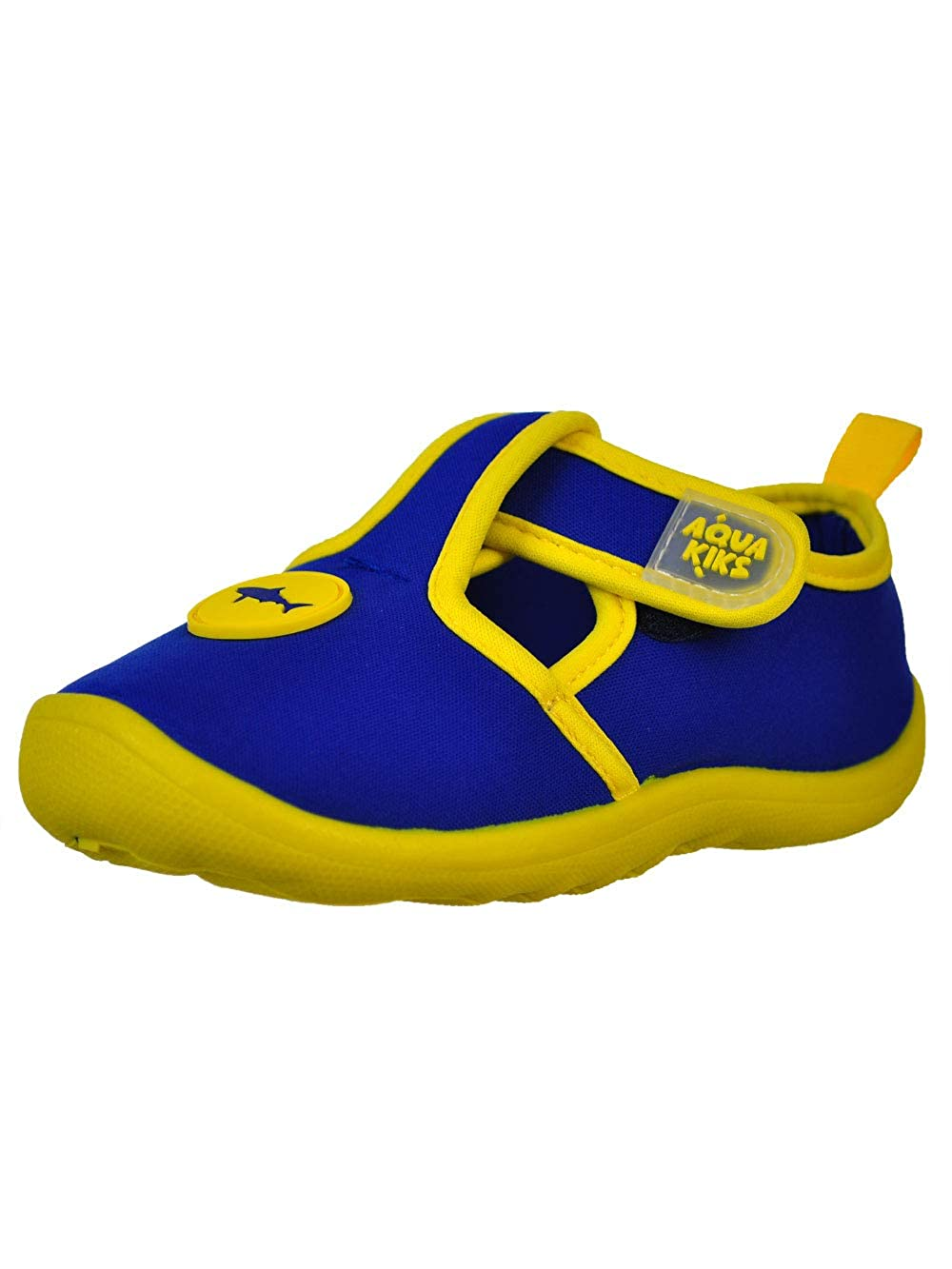 7 Toddler 52408//2-NVY-T7 Aqua Kiks Boys Water Shoes Navy//Yellow