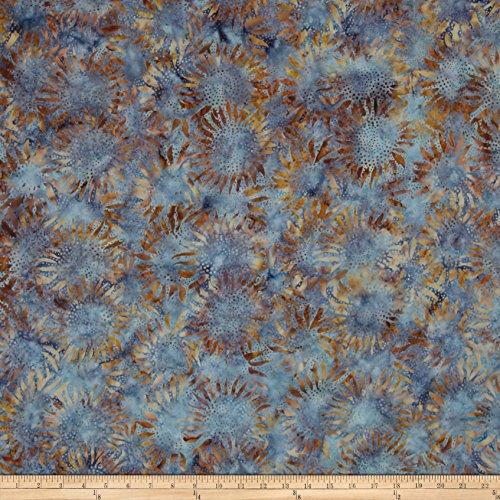 Hoffman Fabrics Hoffman Bali Batiks Sunflower Fabric by The Yard, Cabo