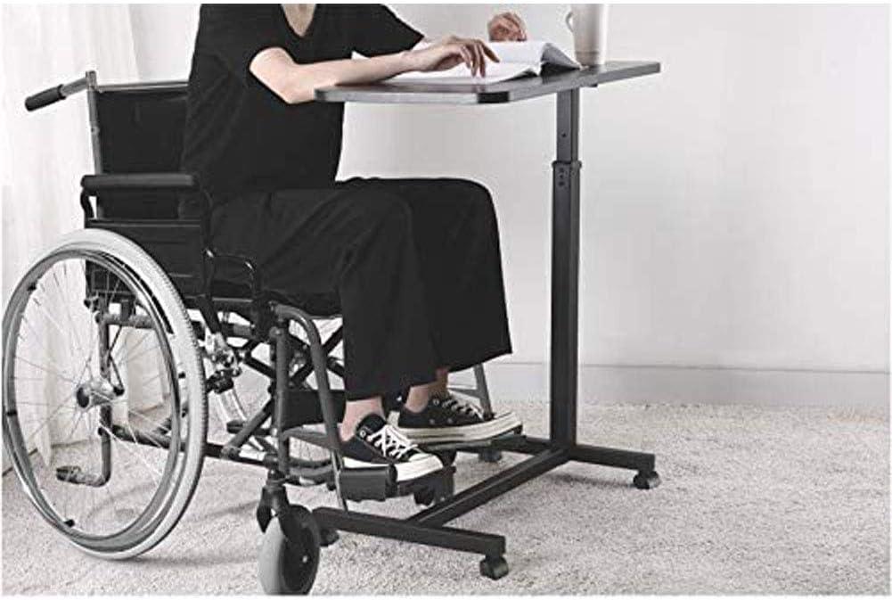SEGIBUY Laptoptisch Mit Rollen Beistelltisch Notebooktisch H/öhe Verstellbar Rollentisch Mit Bremsen Pflegetisch Couchtisch Notebooktisch F/ür Zu Hause Oder Im Krankenhaus
