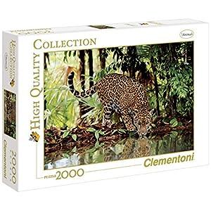 Clementoni 32537 High Quality Collection Puzzle Leopard 2000 Pezzi
