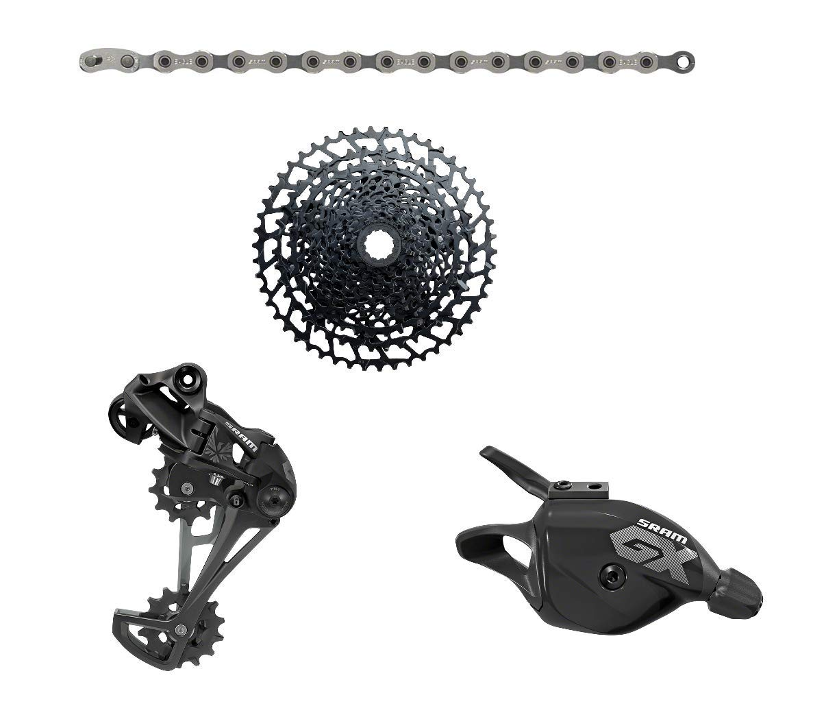 SRAM Eagle GX/NX Trigger Shifter 4-Piece Groupset