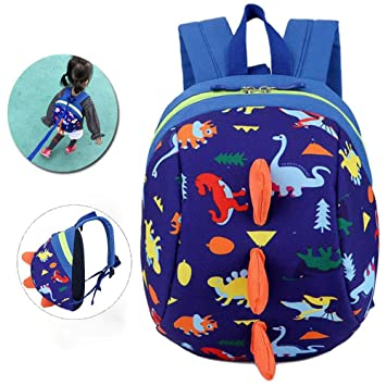Cartoon 3D Toddler Baby Harness Backpack with Reins 13725f5c51d3c