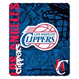 NBA Los Angeles Clippers Hard Knocks Printed Fleece Throw, 50' x 60'