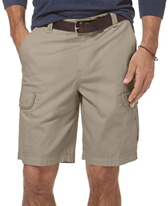 b88de369af Chaps Ralph Lauren Men's Big & Tall Ripstop Flat-front Cargo Shorts, Hudson  Tan
