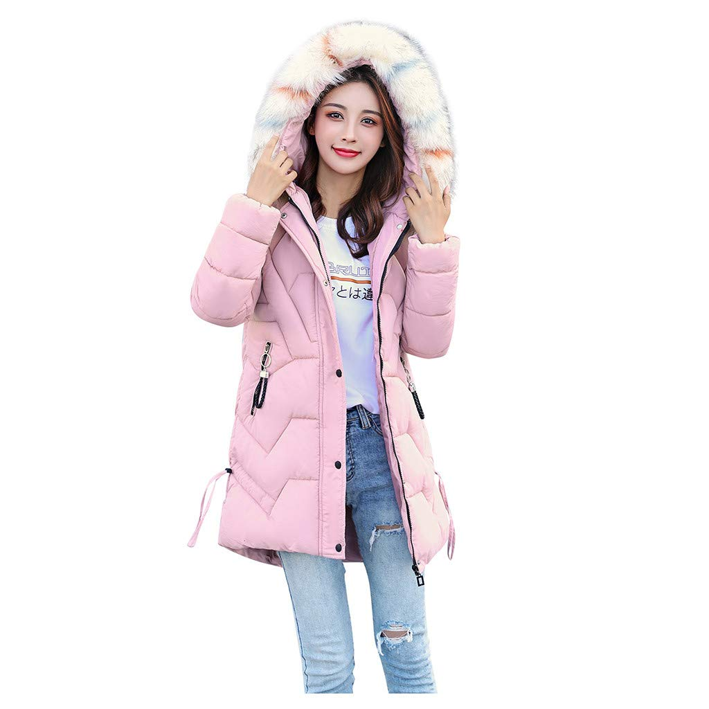 BBTshop Women Coats Jackets Outerwear Faux Fur Hooded Button Overcoat Hoodie Pocket Sweater Ladies Girls Long Sleeve Outwear Tops Sweatshirt Warm Trench Blouses Suit Blazer Shirt Tailcoat by BBTshop