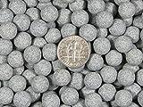 10 Lbs. 9 mm Fast Cutting Abrasive Sphere Ceramic Porcelain Tumbling Tumbler Media Grey