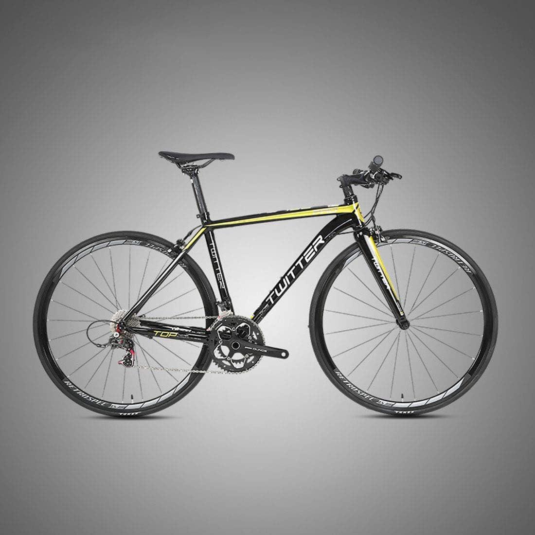 MICAKO Bicicleta de Aleación de Aluminio, Bicicleta de Carretera ...