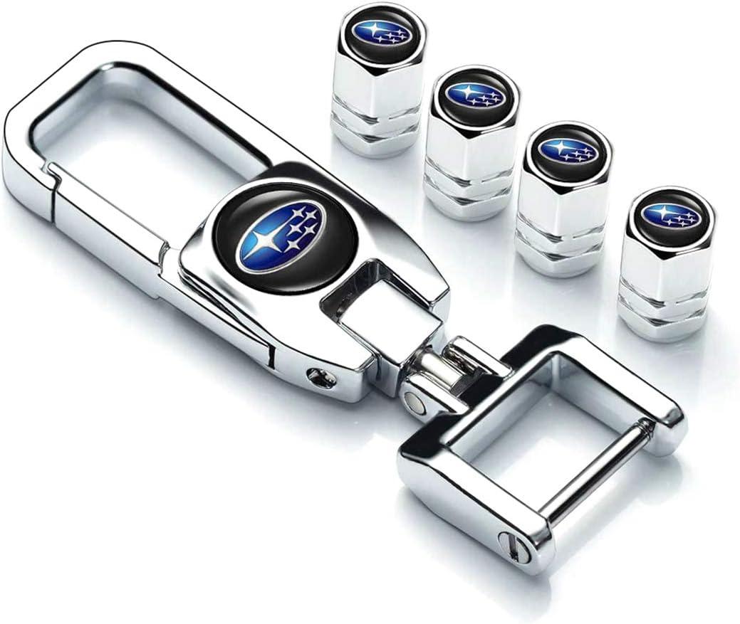 Allring Ventilkappen Legierung Ventil Stielen Staub Auto Rad Reifen Ventilkappe Mit Schlüssel Kette 4 Stück Auto