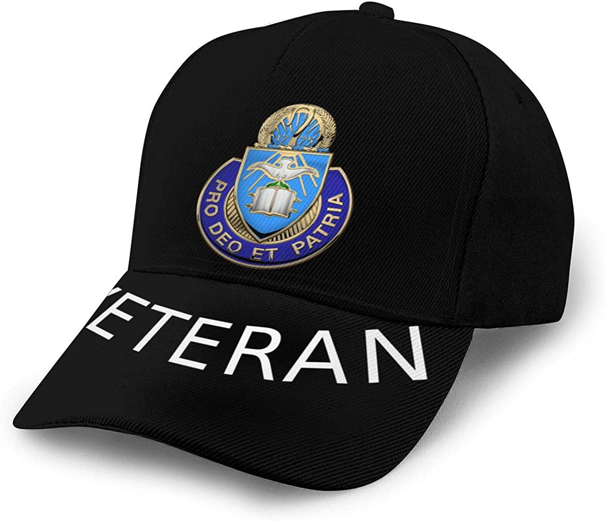 U S Army Chaplain Corps Regimental Insignia Baseball Cap Dad Hat Unisex Classic Sports Hat Peaked Cap