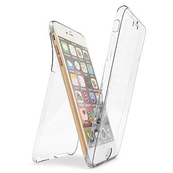 a23bc9a6b5 Amazon | iPhone 7用 フルカバー DiDaDi 360°全面保護 ケース 正面1個+ ...