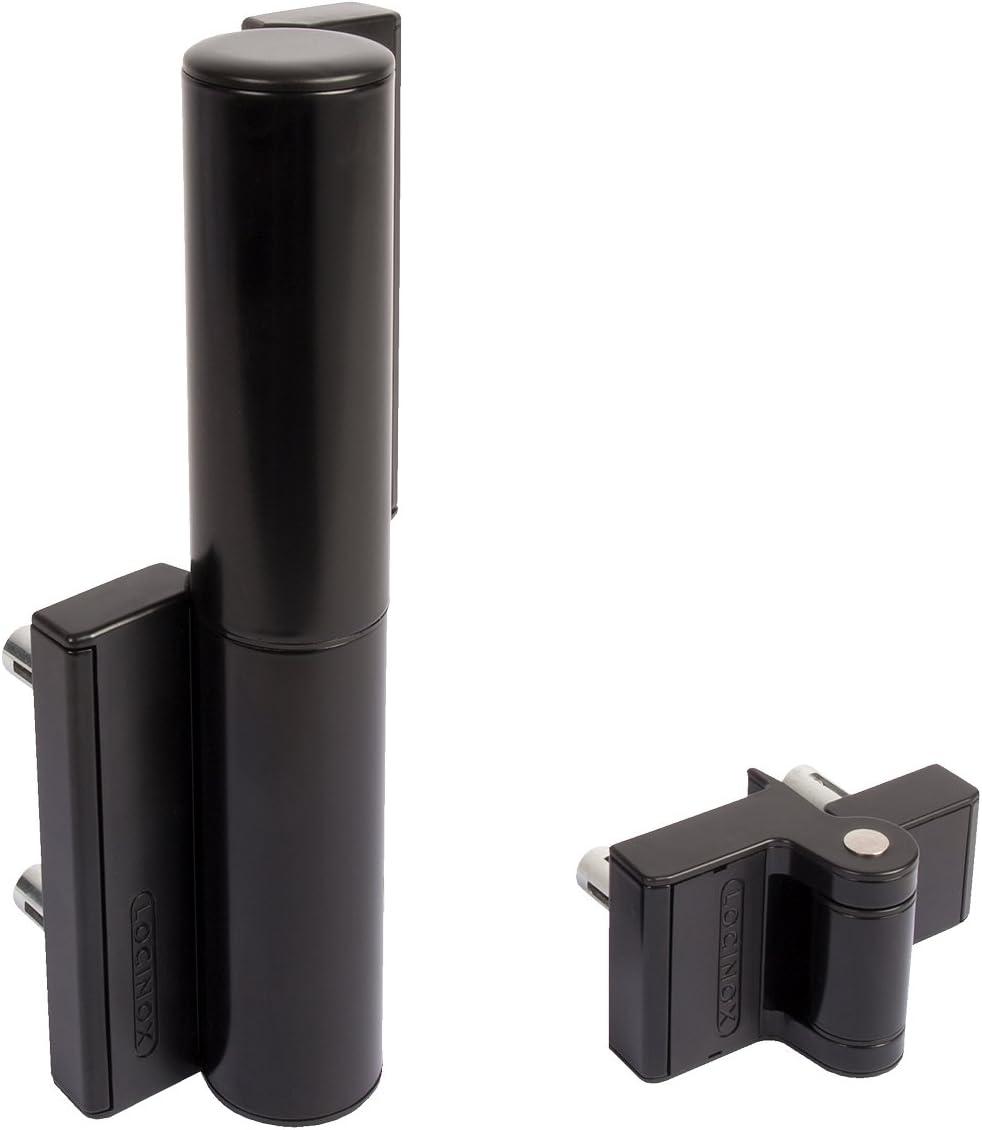 LOCINOX Cierrapuertas hidráulico y bisagra compacta integrado TIGER-9005