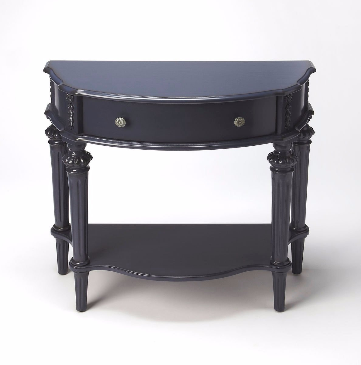 Ambiant Transitional CONSOLE TABLE Blue by Ambiant