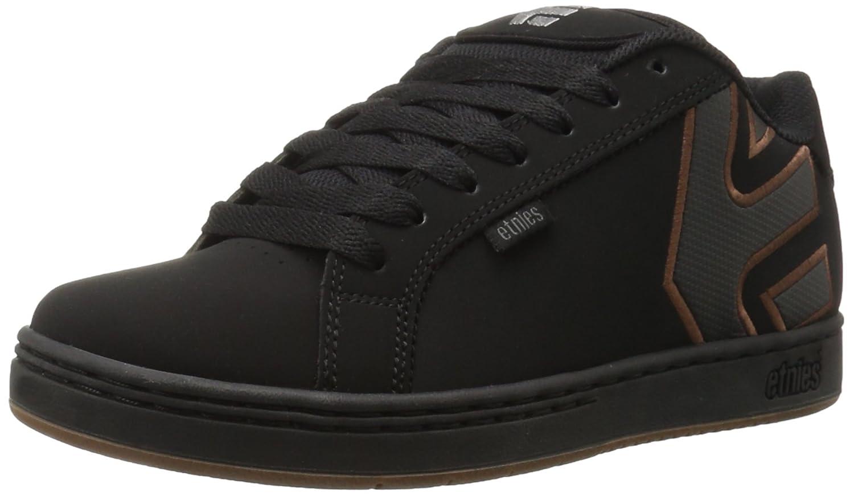 Etnies Herren Fader Skateboardschuhe  Brown/Black/Grey Black (Black/Silver/Gum569)