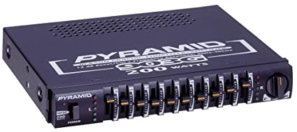 amazon com pyramid 903g 10 band halfdin power booster graphic rh amazon com For in Car Equalizer Wiring-Diagram Equalizer Systems Wiring Diagram