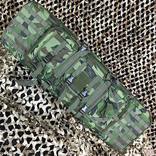 Gen X Global Tactical 42'' Paintball Airsoft AR15 Dual Rifle Gun Bag - Camo by Loader
