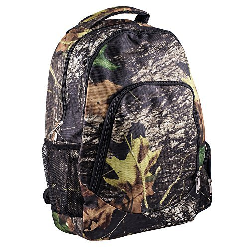 Reinforced Design Water Resistant Backpack (Woodland Camo) by WB