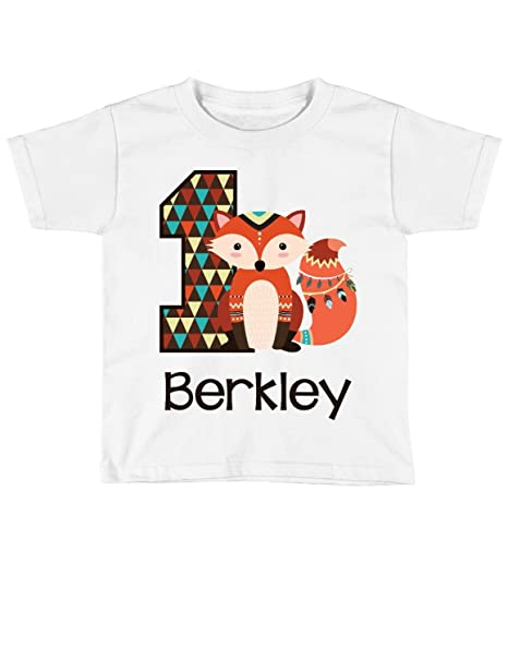 Amazon Blu Magnolia Co Baby Boys Fox 1st Birthday Outfit Or Shirt