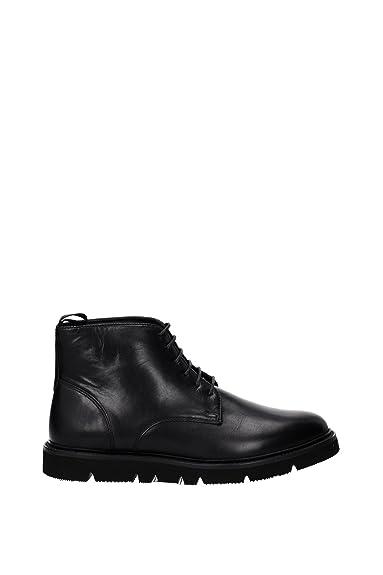 9350466a44600020 Montante Cuir Jeans Armani Noir Chaussure Homme c5ARqj34L