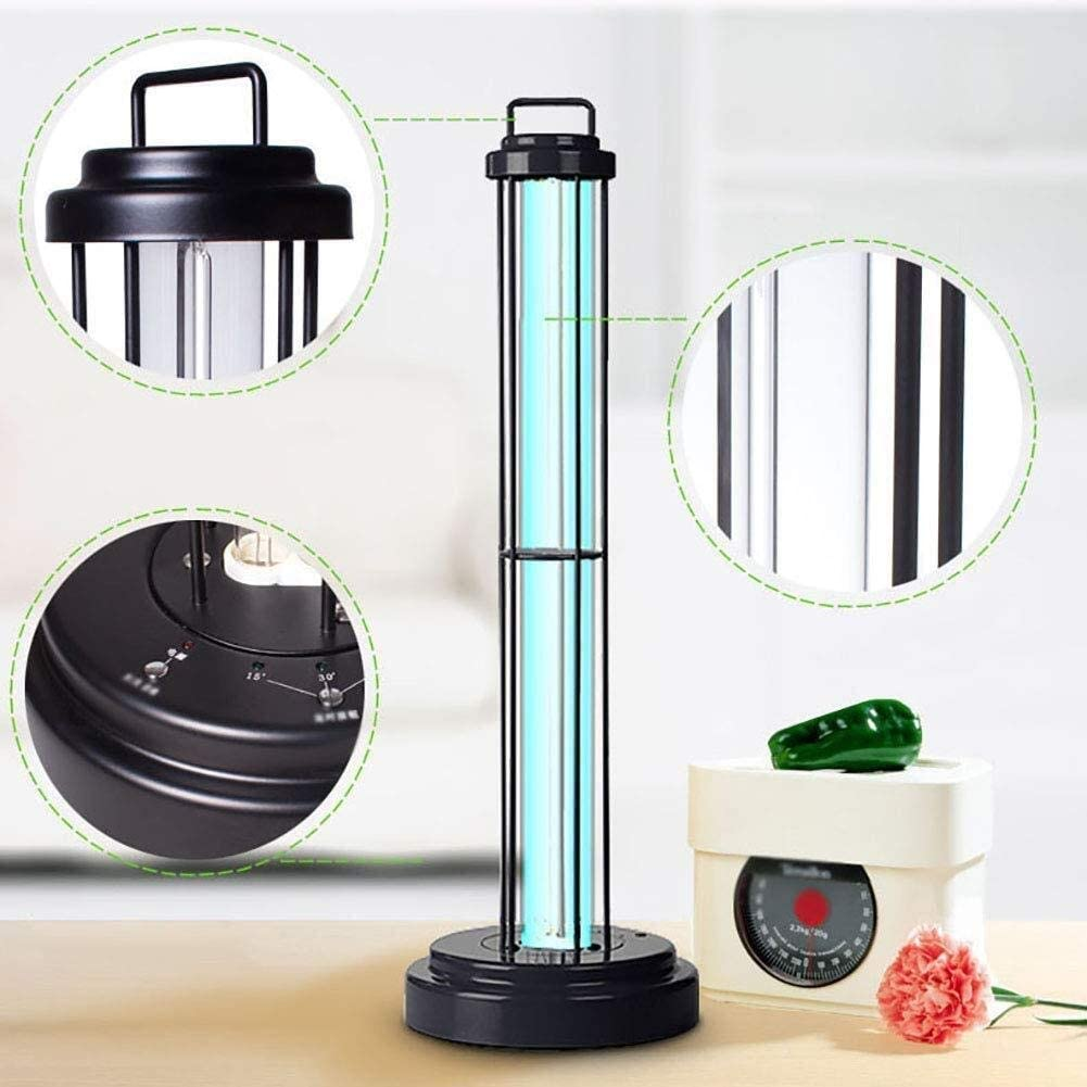 Xiao duu 220v purificatore dAria disinfezione UV Lampada Anti Flu Color : No Ozone, Size : 60W