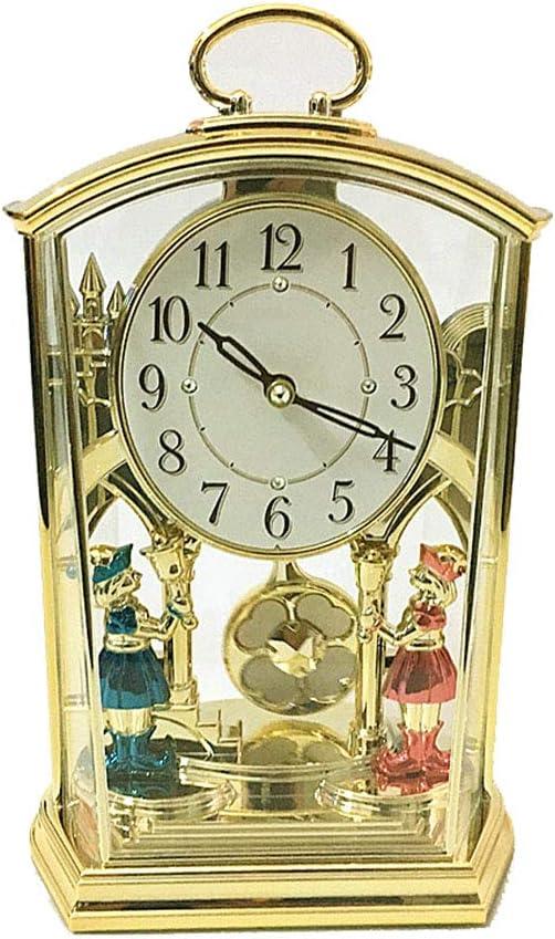 Fengfeng Mantel Relojes, Pantalla de 12 Horas Cuarzo Contemporáneo ...