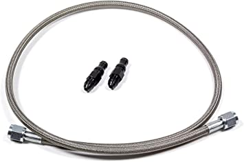 McLeod Racing 139203-17 Quick Disconnect Female End To An4F 17in Steel Braided Line